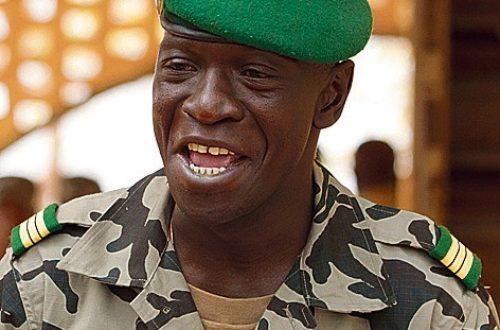 Article : Le capitaine Sanogo au bar masqué