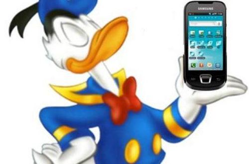 Article : Donald Duck avait un Samsung GALAXY