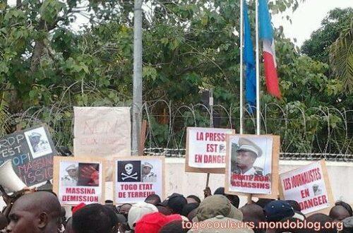 Article : Togo : L'ambassade de France, témoin de la violence exercée sur les manifestants