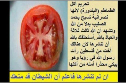 Article : Je suis si impur, et j'aime la tomate