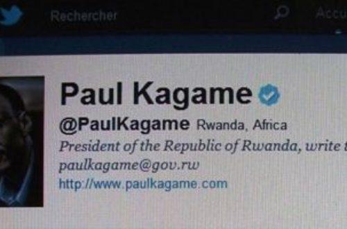Article : Paul Kagamé accepte une invitation par twitter!