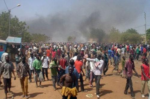 Article : Décès de Justin Zongo : La marche des étudiants réprimée