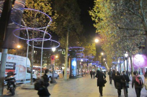 Article : Paris, en mode Noël