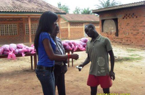 Article : Manuella Rosssi est partie en croisade contre l'injustice et l'inégalité sociale à Bangui