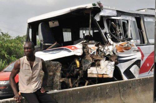 Article : La délinquance routière : le fléau du bitume Ivoirien