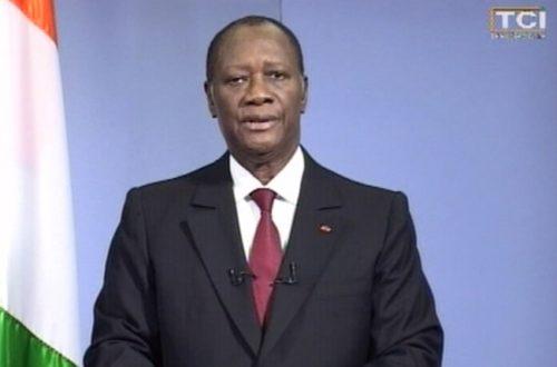 Article : Discours d'Alassane Ouattara : l'appel à Gbagbo