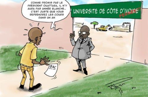 Article : Universités Ivoiriennes : 1600% de majoration pour les frais d'inscription !