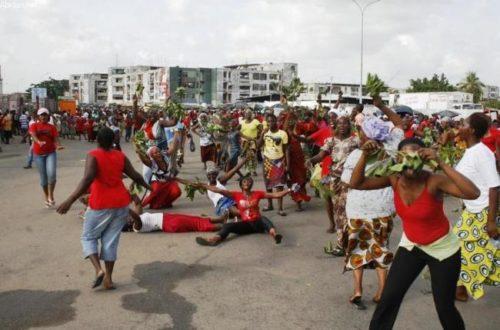 Article : Sept manifestantes du RHDP tuées à Abobo
