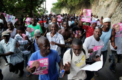 Article : Haiti, une crise électorale qui tue et blesse