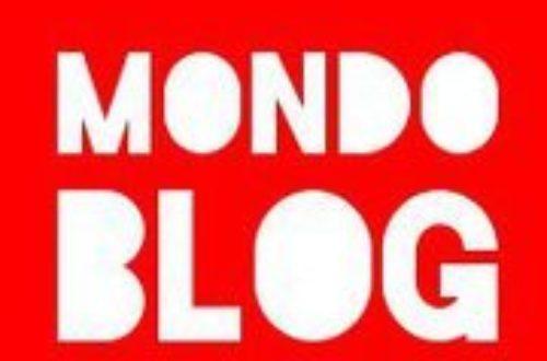 Article : Mondoblog – C'est reparti !
