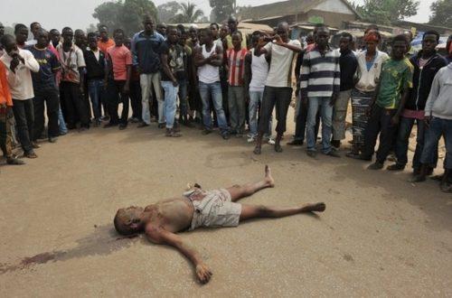 Article : J'ai vécu la crise ivoirienne de façon palpable ce vendredi