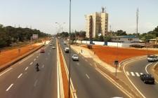 Vue de l'autoroute, Conakry. Cc Daye Diallo