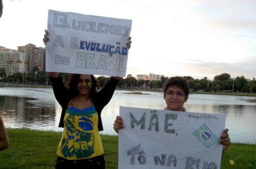 Article : Manifestations au Brésil: la fin des illusions
