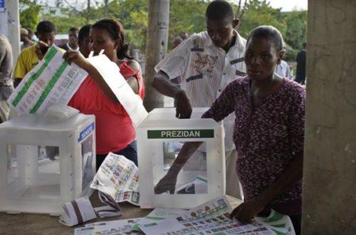 Article : Haïti et son rituel électoral
