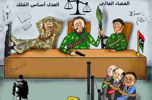 Article : C'est Le rapport de forces qui tient la stabilité en Libye