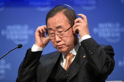 Article : Les Togolais sont heureux, Messieurs de l'O.N.U