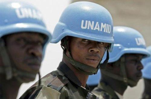 Article : Au Mali des casques bleus soupçonnés d'abus sexuels