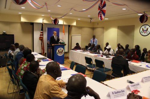 Article : Côte d'Ivoire : des responsables de radios à l'école américaine