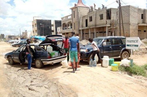 Article : Y'en a marre de la pénurie d'eau à Dakar !