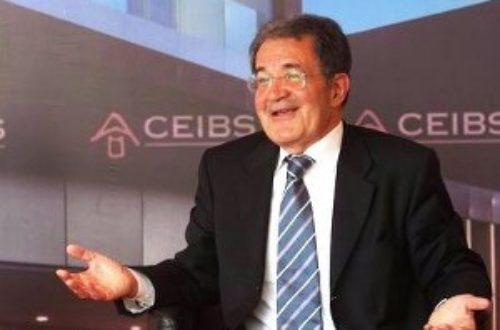 Article : Ah, oui ! Romano Prodi a compris !