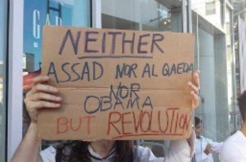 Article : En Californie, la guerre en Syrie mobilise contre Obama (images)