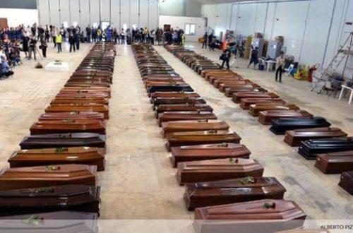Article : Lampedusa ou le tombeau des rêves
