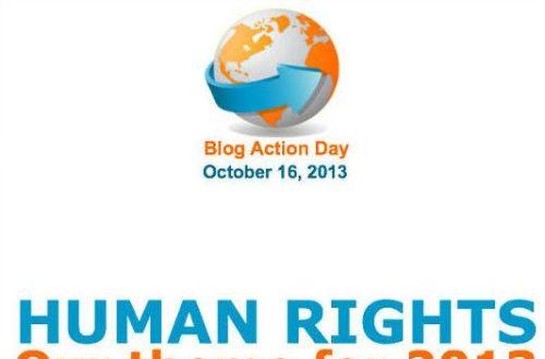Article : Blog Action Day, bloguer pour les droits de l'homme