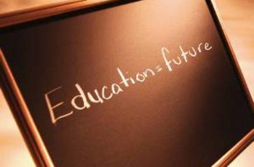 Article : L'automobile du développement prend son essence dans la station de l'éducation