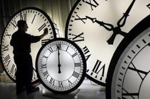 Article : L'importance du temps