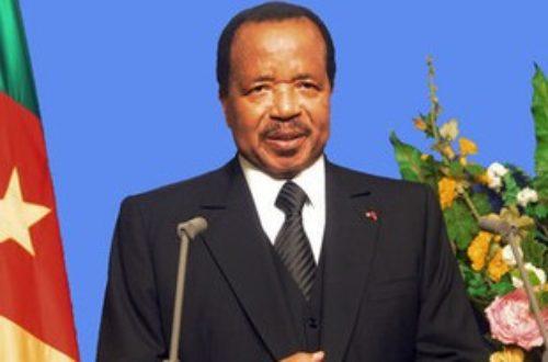 Article : Cameroun : pourquoi des images du président Paul Biya dans une université?