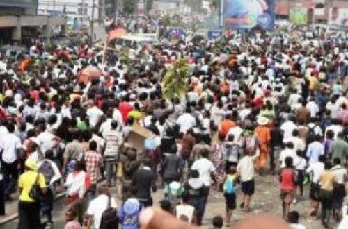Article : RDC : la population de Goma dans la rue pour fêter la «mort» de Kagame