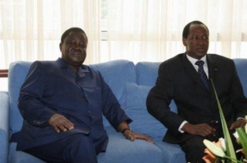 Article : Crise du parti présidentiel au Burkina : la Côte d'Ivoire appelle au dialogue