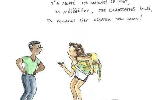 Article : 25 % des Brésiliens adoptent le nom de leur épouse (Dessins)