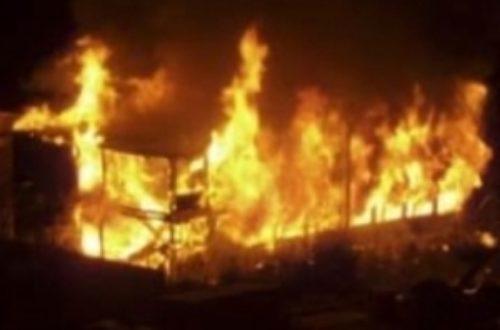 Article : Des incendies mystérieux au Sénégal