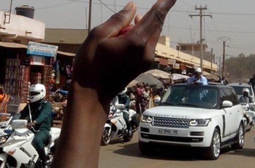 Article : Mali : quand le président passe….