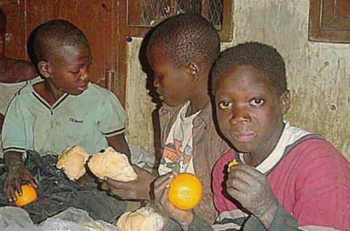 Article : Enfant de la rue, fils de la misère !