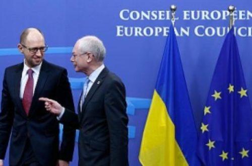 Article : Ukraine : la diplomatie d'argent de l'Union européenne ?