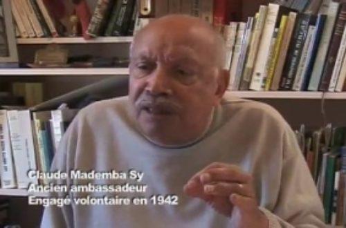 Article : Le dernier souffle du colonel Claude Mademba Sy