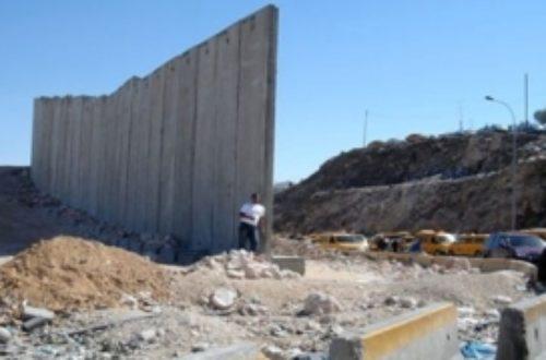 Article : Non au «Mur de la honte» à Dakar !