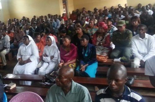 Article : Pâques à la prison de Bamenda