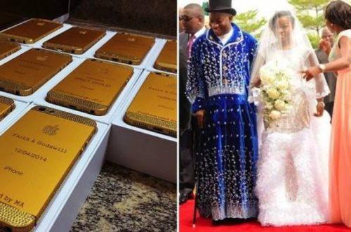 Article : Au Nigeria, un mariage doré chez les Goodluck !