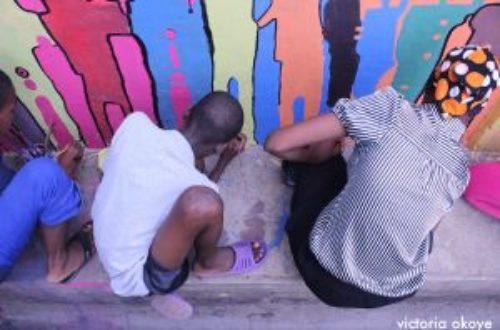 Article : C'est pas un mur, c'est un mural ! «Imagine Accra»