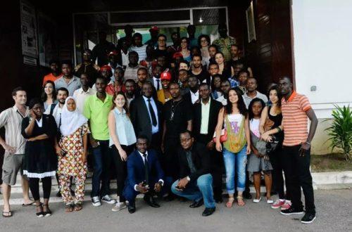 Article : Formation Mondoblog Abidjan 2014, Lay Corbeille avant et après