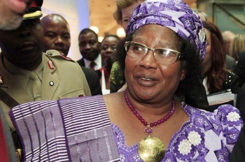Article : Joyce Banda, le fair-play politique au féminin