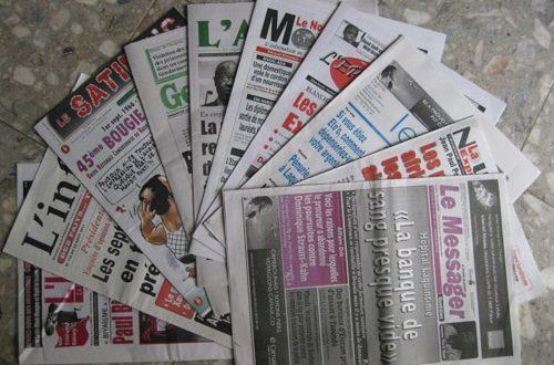 Article : La presse écrite camerounaise : Le débat sur le droit d'auteur (suite et fin)