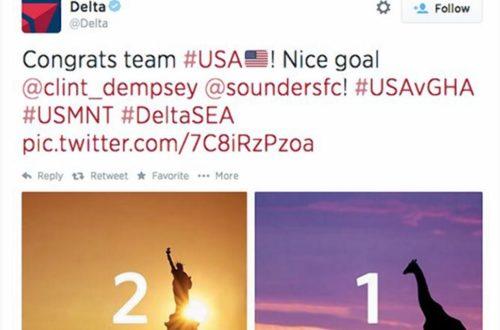 Article : Ghana : ma réponse au tweet stupide de Delta Airlines