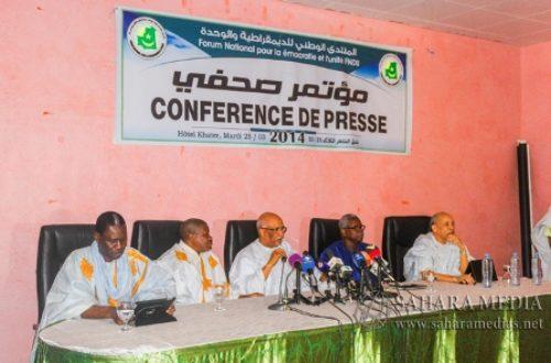 Article : Mauritanie : Finalement, l'opposition participera à la présidentielle