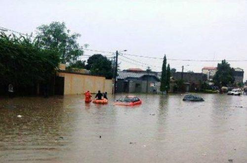 Article : Abidjan sous les flots