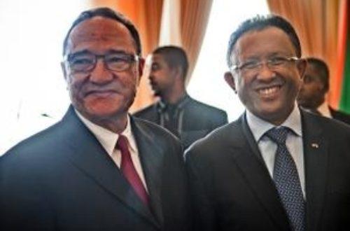Article : A Madagascar le truel continue