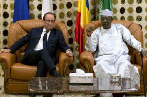 Article : Hollande à Ndjamena : cynisme impérial